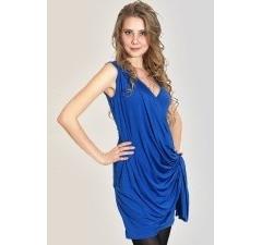 Синее платье Donna Saggia