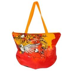 Красная женская сумка | ДС-1284