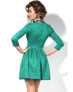Платье нефритового цвета Donna Saggia DSP-128-50t