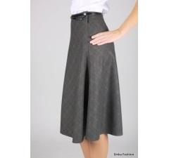 Утепленная юбка Emka Fashion