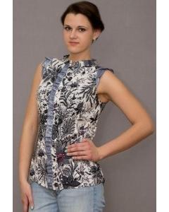 Блузка без рукавов Golub | Б883-1848-1036