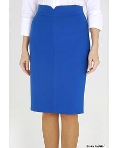 Юбка синего цвета Emka Fashion 400-aleksandra