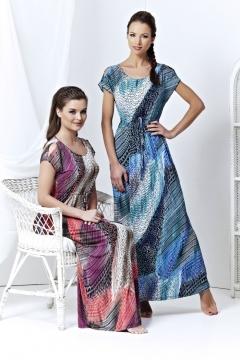 Длинное летнее платье TopDesign 2013 | A3 001