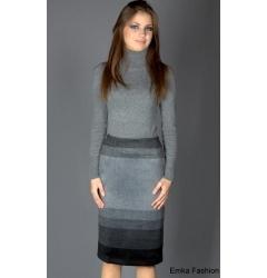 Прямая юбка Emka Fashion интересной расцветки