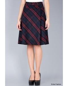 Утеплённая юбка Emka Fashion 504-eva