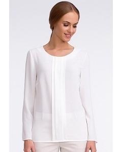 Белая блузка с длинным рукавом Sunwear U35