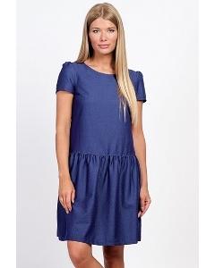 Платье синего цвета Emka Fashion PL-454/orly