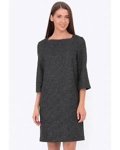 Осенне-зимнее платье из шерсти Emka Fashion PL-526/otrada