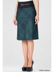 Юбка с завышенной талией Emka Fashion 365-karolina