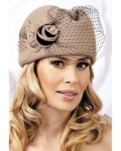 Элегантная шапка с сеткой Willi Nimfa