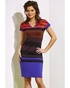 Трикотажное платье TopDesign A4 029