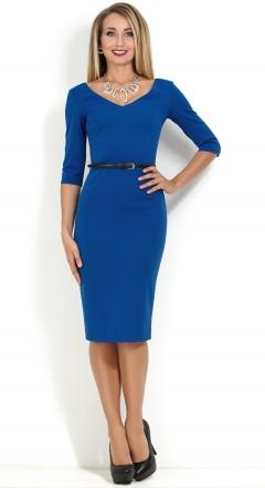 Платье с v-образным вырезом Donna Saggia DSP-156-37t