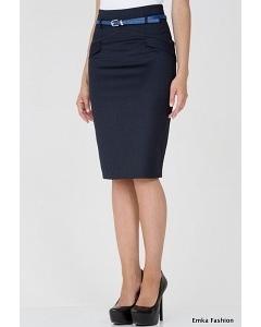 Черная юбка-карандаш Emka Fashion 473-laima