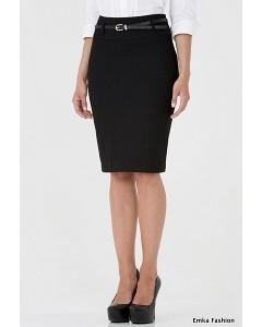 Офисная юбка длинной до колена Emka Fashion 202-60/brianna