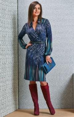 Платье TopDesign B4 035 (коллекция осень-зима 2014/2015)