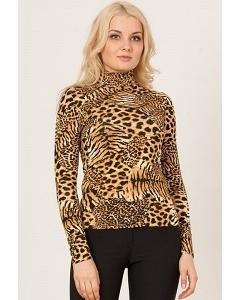 Леопардовая блузка Remix 3700