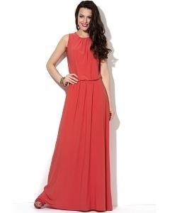 Длинное платье с драпировкой Donna Saggia DSP-34-30t