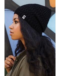 Чёрная шапка Brand 69 Inessa