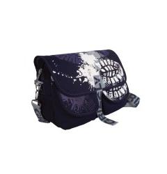 Синяя молодёжная сумка Grizzly | СМ-1022