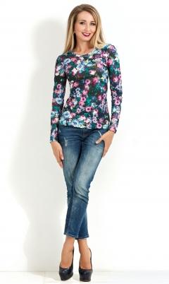 Трикотажная блузка Donna Saggia DSB-05-84t