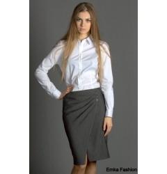 Стильная прямая юбка