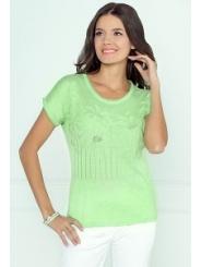Блузка салатового цвета Andovers 205508