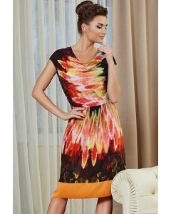 Летнее платье TopDesign Premium PA4 34