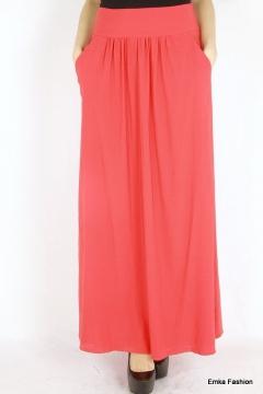 Длинная летняя юбка Emka Fashion 309-fikus