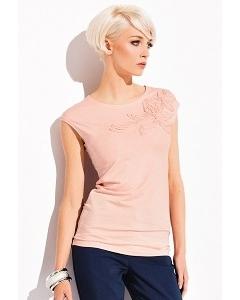 Персиковая блузка Zaps Aspen (коллекция весна-лето 2015)