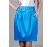 синяя юбка