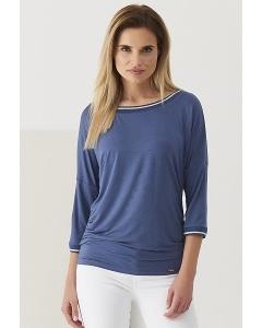 Женская синяя блузка Sunwear Q11-2-53