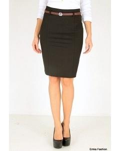 Черная юбка-карандаш Emka Fashion 354-aponi
