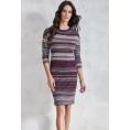 Трикотажное платье в полоску Sunwear VS212-5-06