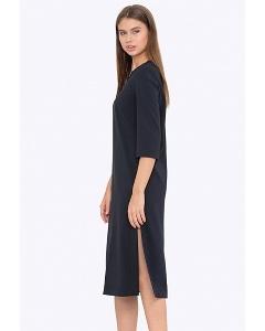 Женское платье с разрезами по бокам Emka PL749/eclipse