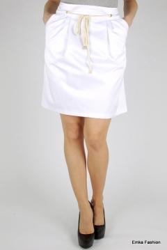 Юбка белого цвета Emka Fashion 449-dorian