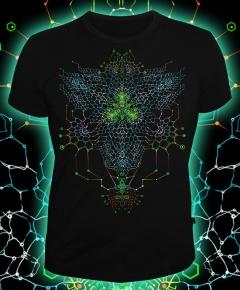 Мужская футболка Nano Skeleton (Светится в ультрафиолете)
