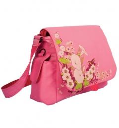 Розовая сумка Grizzly | СМ-1026