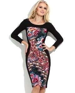 Облегающее трикотажное платье Donna Saggia DSP-112-66t