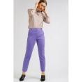 Зауженные фиолетовые брюки Emka D115/selesta
