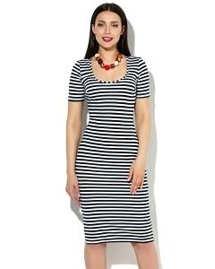 Летнее платье-тельняшка Donna Saggia DSP-49-1t