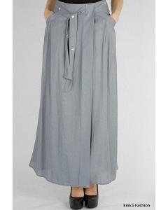 Длинная юбка серого Emka Fashion 450-djozefa