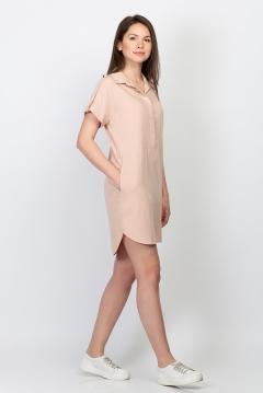 Стильное платье-рубашка Emka Fashion PL-508/agata