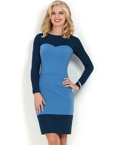 Платье с эффектом платья-бюстье Donna Saggia DSP-165-43t
