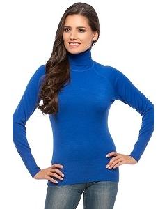Синяя водолазка Conso Wear KWTS160707
