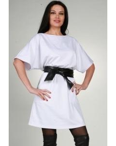 белое дизайнерское платье Chertina&Durre | 0020