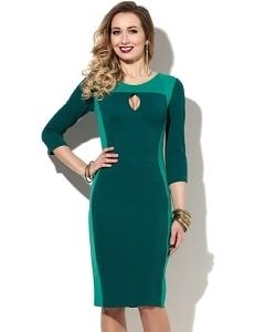 Платье из плотного трикотажа Donna Saggia DSP-114-75t