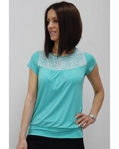 Блузка зеленого цвета Sunwear N08-3