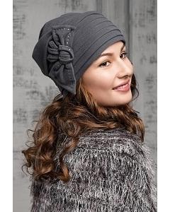 Женская велюровая шапка Willi Lena