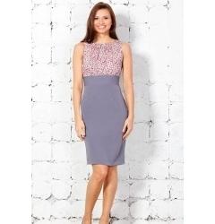 Платье с эффектом 2 в 1