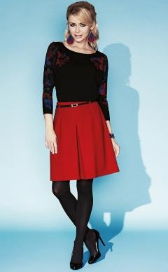 Чёрная блузка Zaps Jessie